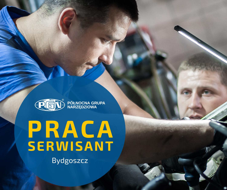 Praca – poszukujemy Serwisanta (Bydgoszcz)
