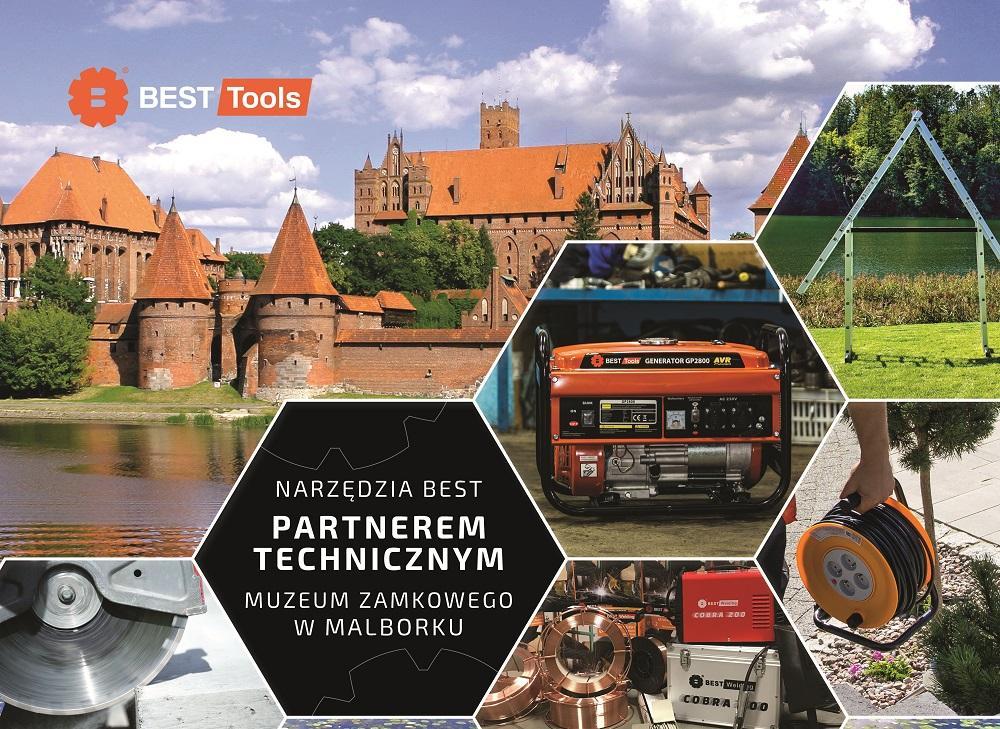 Narzędzia BEST partnerem technicznym Muzeum Zamkowego wMalborku
