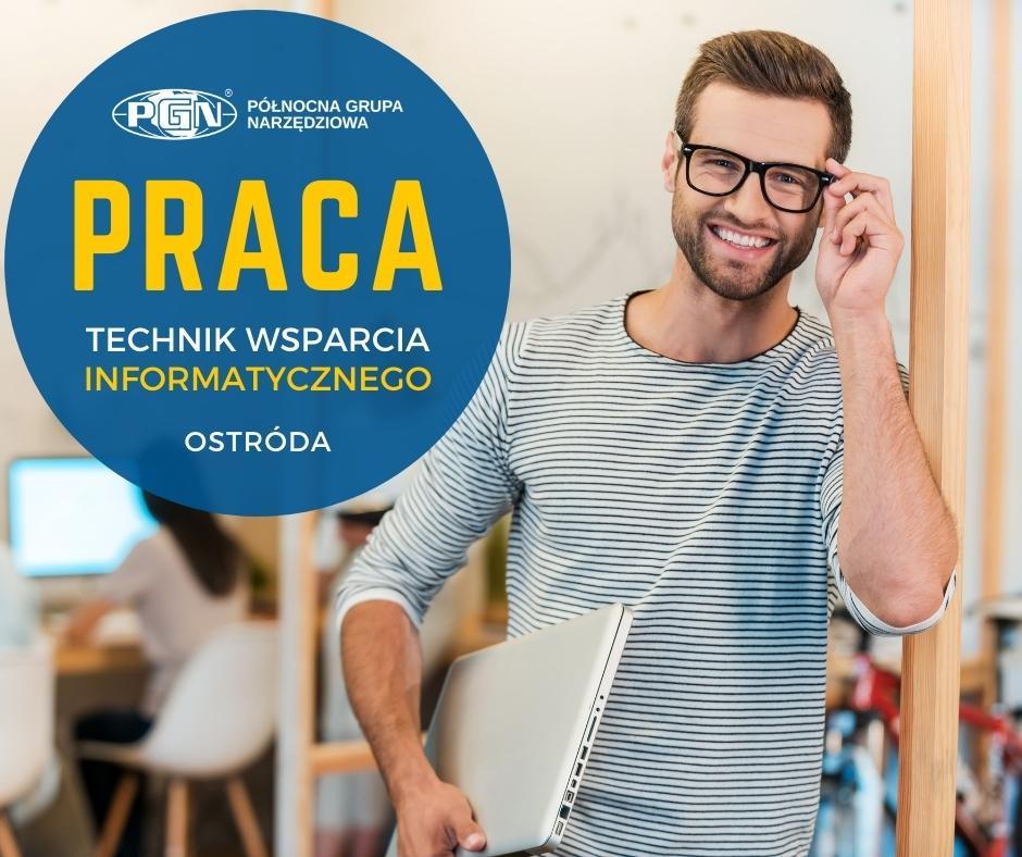 Oferta pracy – technik wsparcia informatycznego – rekrutacja zakończona